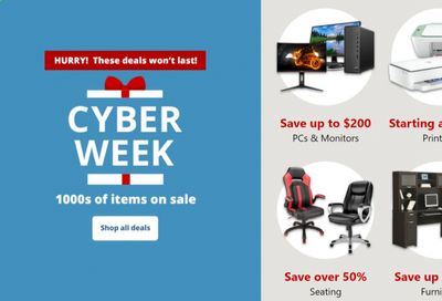 Office DEPOT Weekly Ad Flyer December 2 to December 9