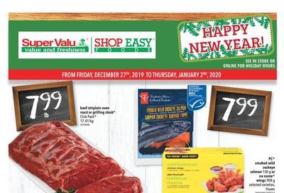 Shop Easy & SuperValu Flyer December 27 to January 2
