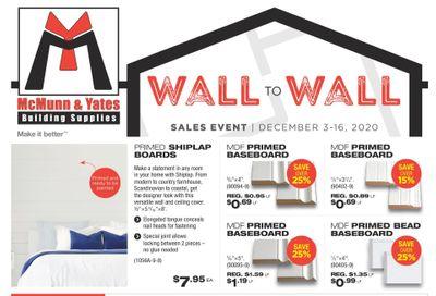 McMunn & Yates Building Supplies Flyer December 3 to 16