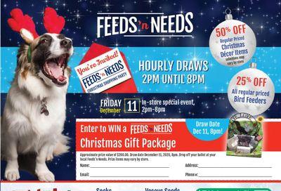 ShurGain Feeds'n Needs Flyer December 3 to 12