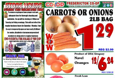 Fredericton Co-op Flyer December 3 to 9