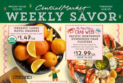 Central Market (TX) Weekly Ad Flyer December 2 to December 8