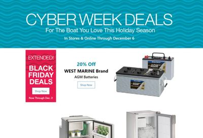 West Marine Weekly Ad Flyer December 3 to December 10