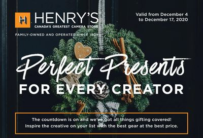 Henry's Flyer December 4 to 17
