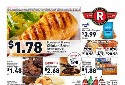 Redner's Markets Weekly Ad Flyer December 3 to December 9, 2020