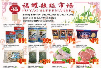 Fu Yao Supermarket Flyer December 4 to 10