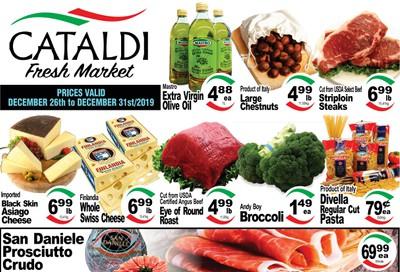 Cataldi Fresh Market Flyer December 26 to 31