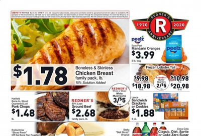 Redner's Markets Weekly Ad Flyer December 3 to December 9