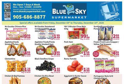 Blue Sky Supermarket (Pickering) Flyer December 4 to 10