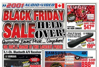 2001 Audio Video Flyer December 4 to 10