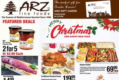 Arz Fine Foods Flyer December 4 to 10
