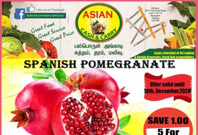 Asian Cash & Carry Flyer December 4 to 10