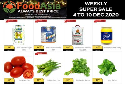 FoodAsia Flyer December 4 to 10