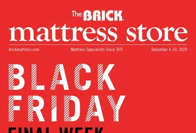 The Brick Mattress Store Flyer December 4 to 10