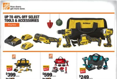 The Home Depot Weekly Ad Flyer December 3 to December 10