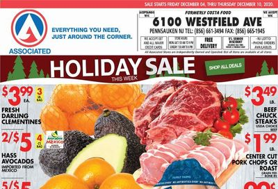 Associated Supermarkets Weekly Ad Flyer December 4 to December 10