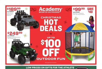 Academy Sports Weekly Ad Flyer December 7 to December 13