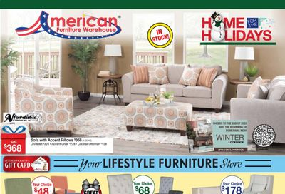 American Furniture Warehouse (TX) Weekly Ad Flyer December 6 to December 12