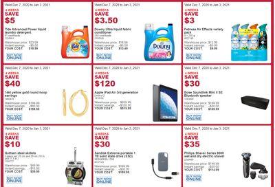 Costco (BC) Weekly Savings December 7 to January 3
