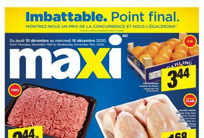 Maxi Flyer December 10 to 16