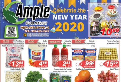 Ample Food Market Flyer December 27 to January 2