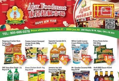 Ajax Foodmart Flyer December 27 to January 2