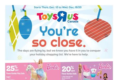 Toys R Us Flyer December 10 to 16