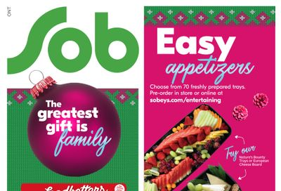 Sobeys (ON) Flyer December 10 to 16