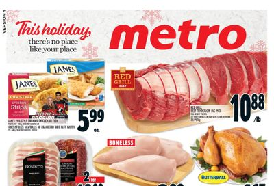 Metro (ON) Flyer December 10 to 16