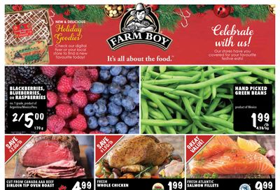 Farm Boy Flyer December 10 to 16