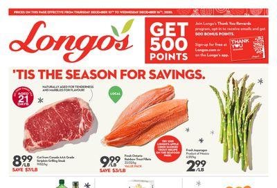 Longo's Flyer December 10 to 16