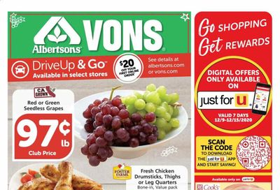 Albertsons Weekly Ad Flyer December 9 to December 15