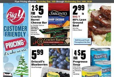 Big Y (MA) Weekly Ad Flyer December 10 to December 16