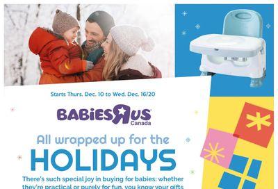 Babies R Us Flyer December 10 to 16