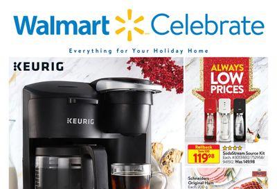 Walmart Celebrate Flyer December 10 to 30