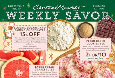Central Market (TX) Weekly Ad Flyer December 9 to December 15