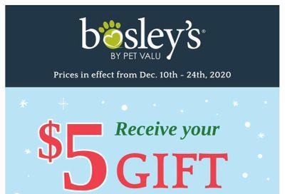 Bosley's by PetValu Flyer December 10 to 24