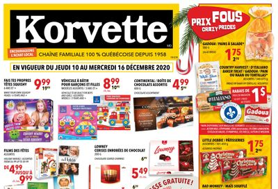 Korvette Flyer December 10 to 16