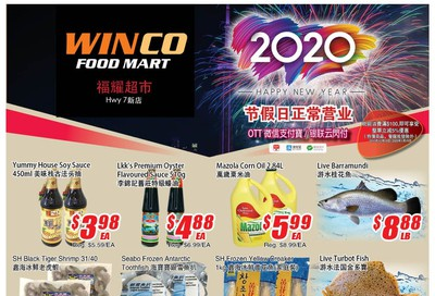 WinCo Food Mart (HWY 7) Flyer December 26 to January 1