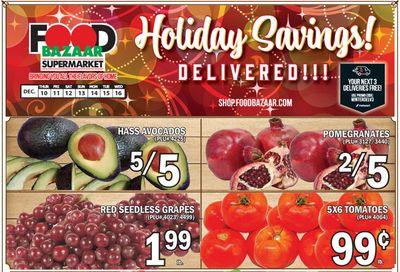Food Bazaar Supermarket Holiday Weekly Ad Flyer December 10 to December 16, 2020