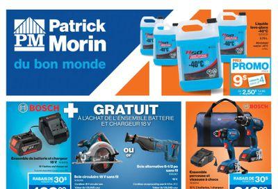 Patrick Morin Flyer December 10 to 16