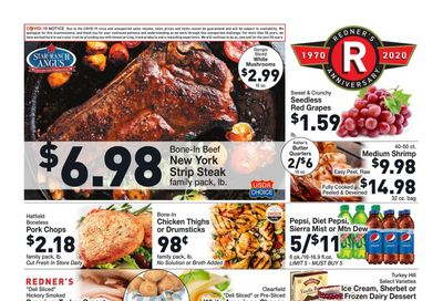 Redner's Markets Weekly Ad Flyer December 10 to December 16, 2020