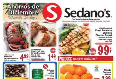 Sedano's (FL) Weekly Ad Flyer December 9 to December 15
