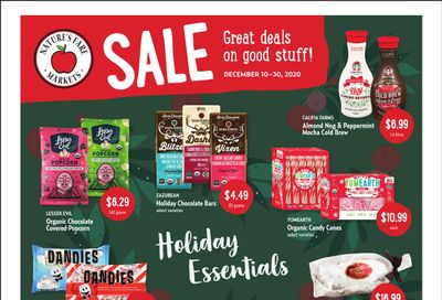 Nature's Fare Markets Flyer December 10 to 30