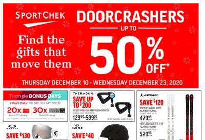 Sport Chek Flyer December 10 to 23