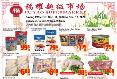 Fu Yao Supermarket Flyer December 11 to 17