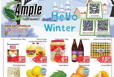 Ample Food Market Flyer December 11 to 17