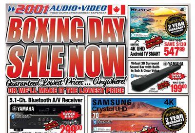 2001 Audio Video Flyer December 11 to 17
