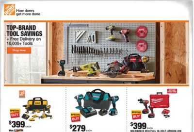 The Home Depot Weekly Ad Flyer December 10 to December 17