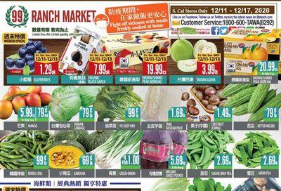 99 Ranch Market (CA) Weekly Ad Flyer December 11 to December 17